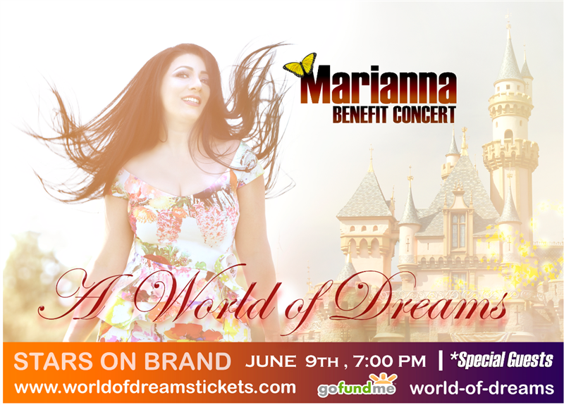 Get Information and buy tickets to A World Of Dreams Marianna Live 2019 on WorldofDreamstickets.com