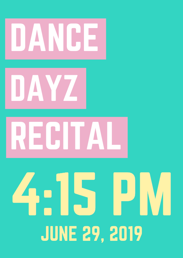 Dance Dayz Recital, 4:15 PM SHOW