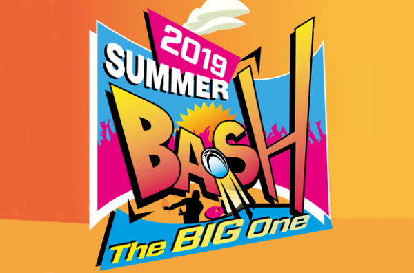 Summer Bash full weekend (+ free t-shirt)