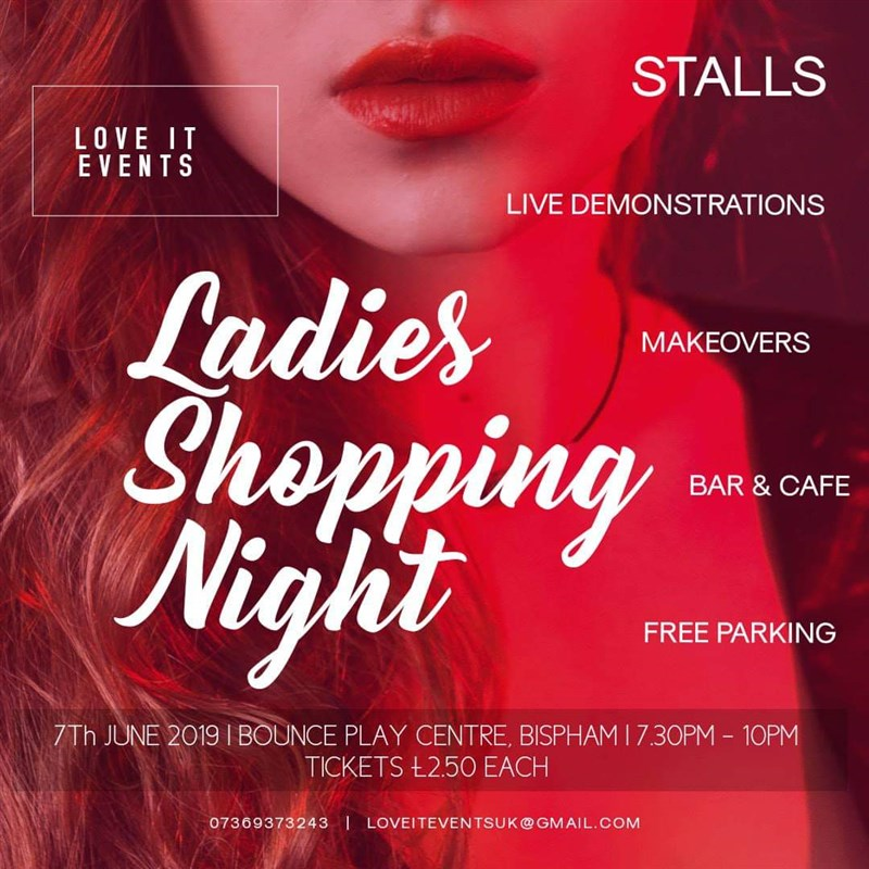 Ladies Shopping Night Stall Holders