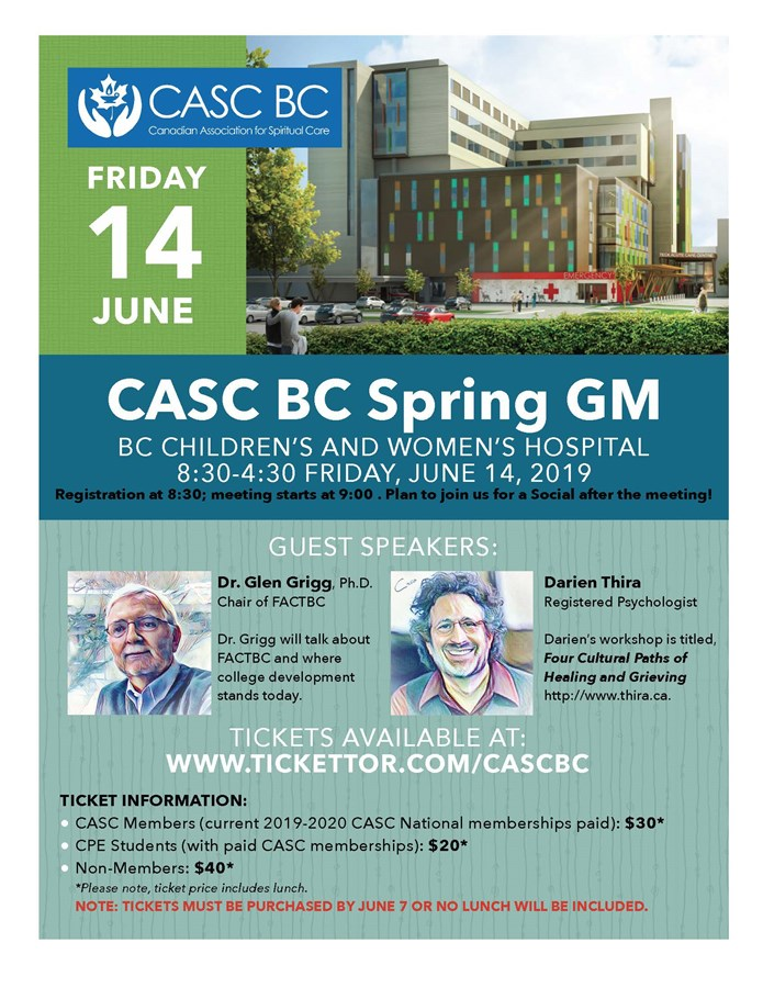 Get Information and buy tickets to CASC BC Special GM  on lisasalazar.com