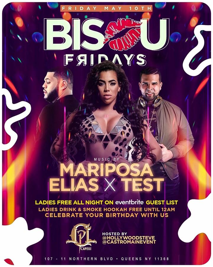 Bisou Fridays at Capellis