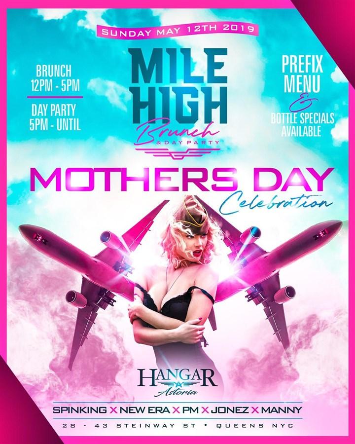 Mile High Brunch Sundays at Hangar Astoria