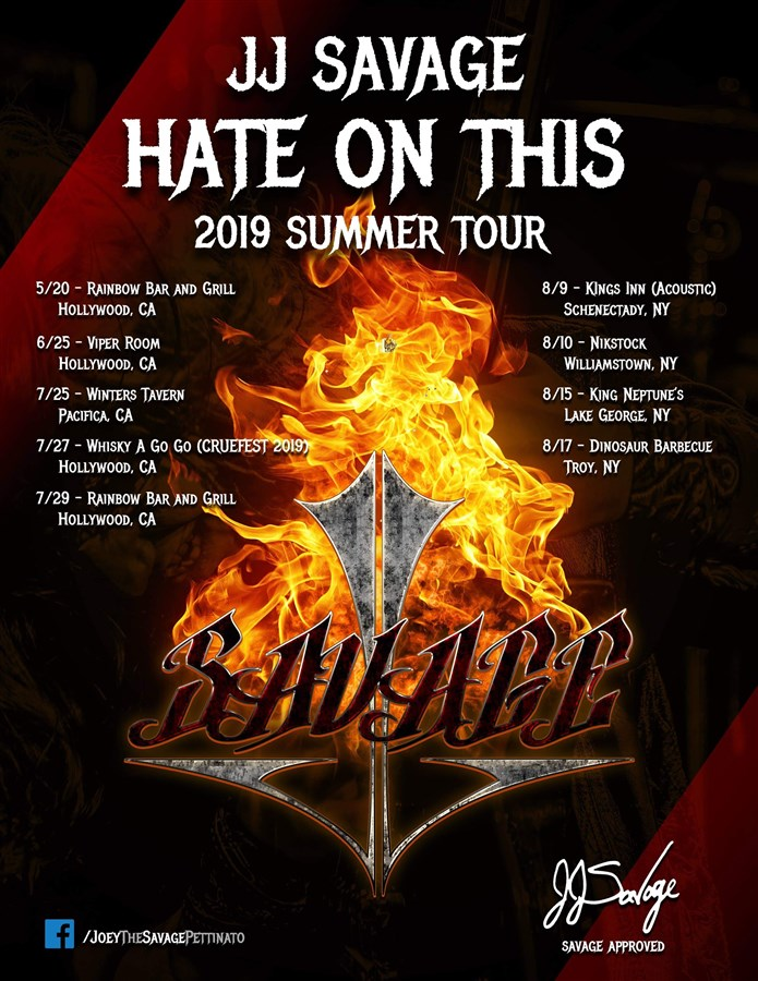 "JJ SAVAGE ""Hate On This"" Tour-Kings Inn-Schenectady, NY"