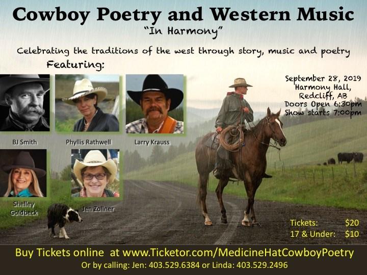 Medicine Hat Cowboy Poetry