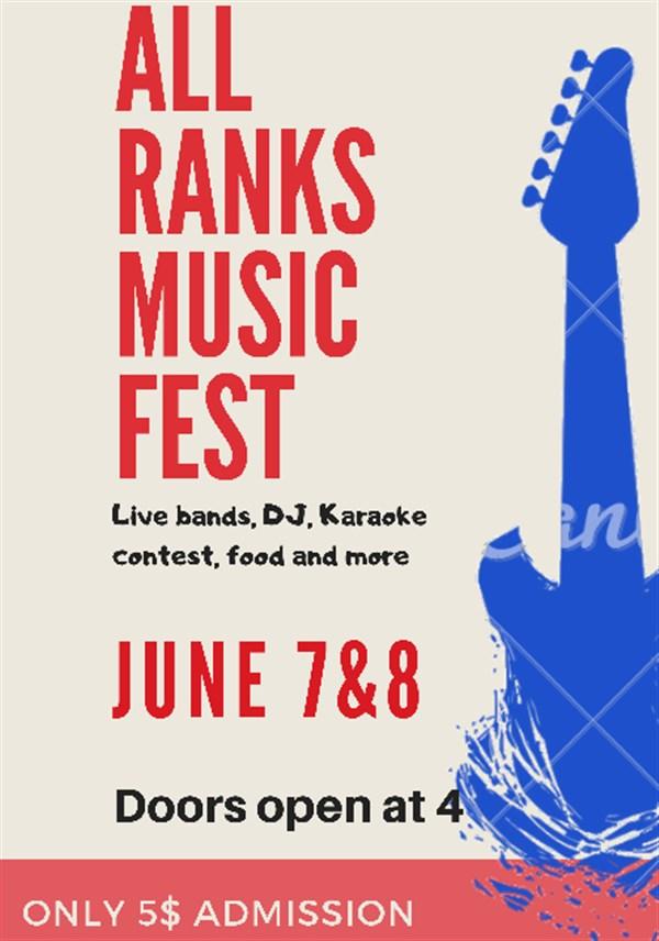 All Ranks Music Fest