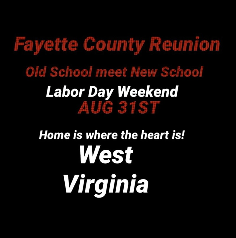 Fayette County Reunion