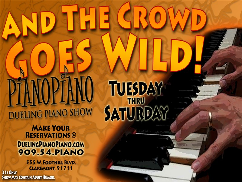 PianoPiano: Saturday Night Dueling Pianos!