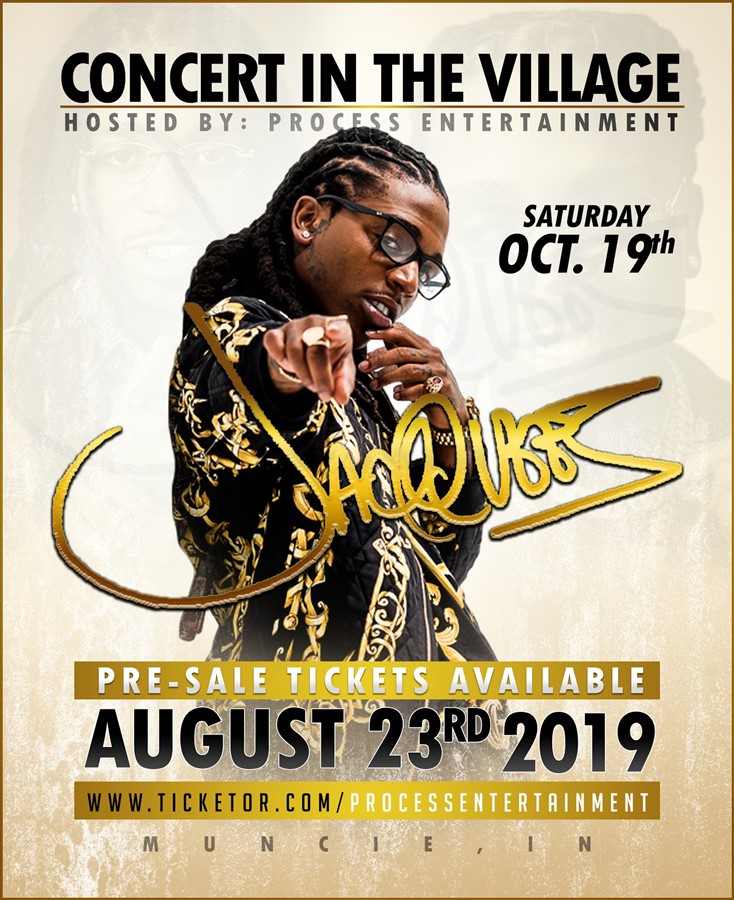 Jacquees LIVE @ Concert in the Village 2019