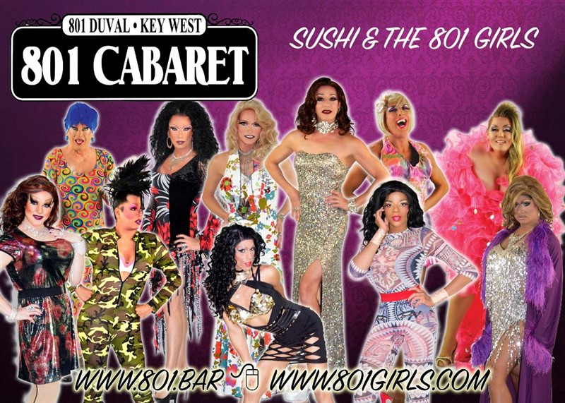 Get Information and buy tickets to 801 Cabaret Show at 11pm  on 801 Girls Drag Shows
