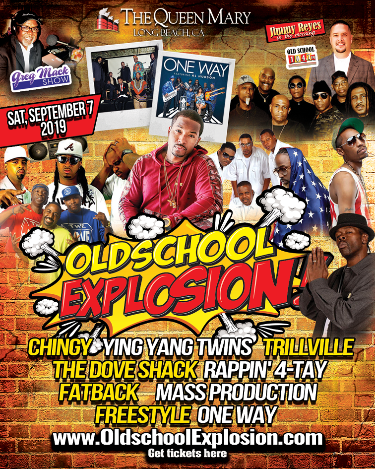 Old School Explosion Music Festival  on Sep 07, 14:00@The Queen Mary Events Park - Buy tickets and Get information on The Wire Entertainment