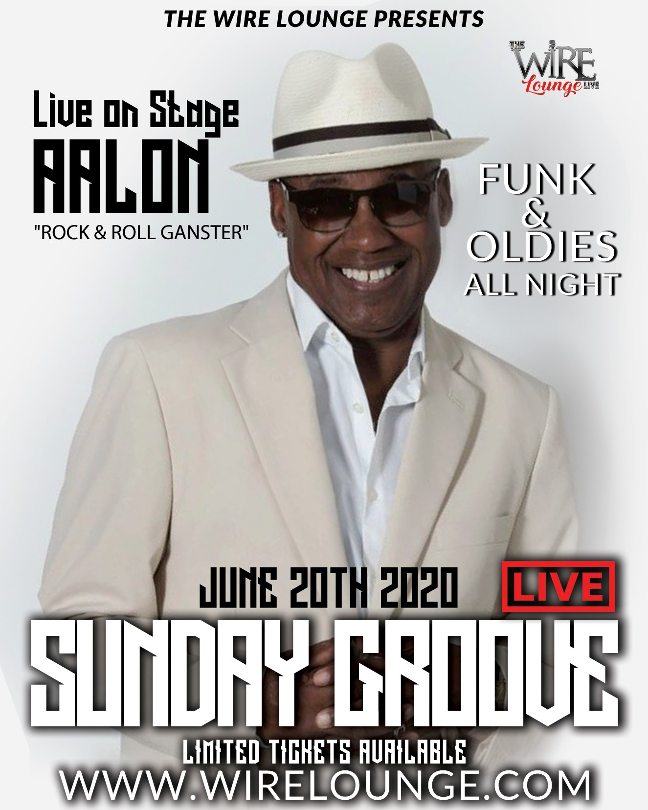 SUNDAY GROOVE LIVE  on Jun 20, 21:00@The Wire Lounge - Buy tickets and Get information on The Wire Entertainment