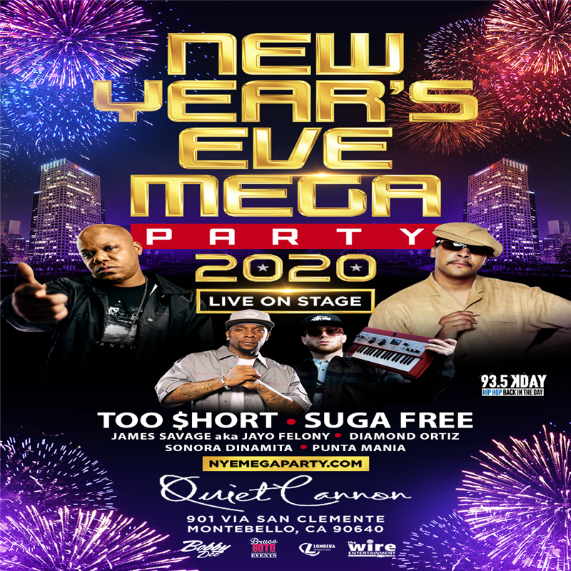 Get Information and buy tickets to New Years Eve Mega Party 2020  on T45
