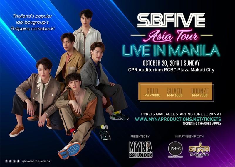 SBFIVE Asia Tour Live in Manila