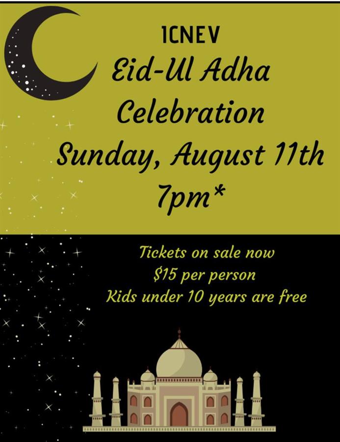 ICNEV Eid-ul-Adha Celebration Dinner
