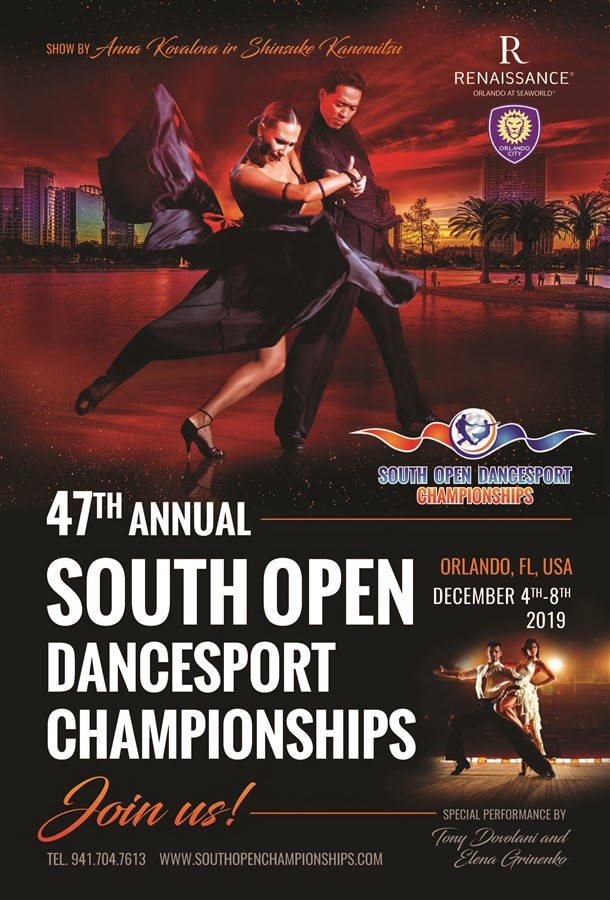 Get Information and buy tickets to South Open Dancesport Championships  on Ini Alawika Imi