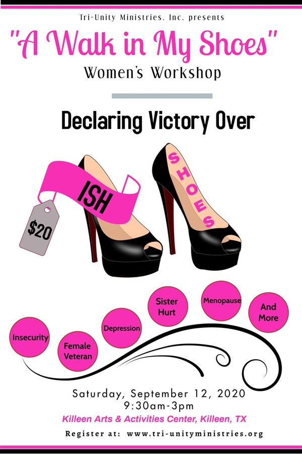 "Get Information and buy tickets to ""A Walk In My Shoes"" Women"