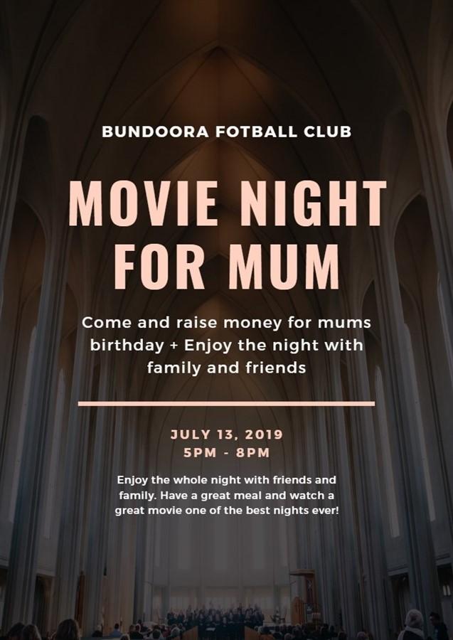 Movie Night For Mum