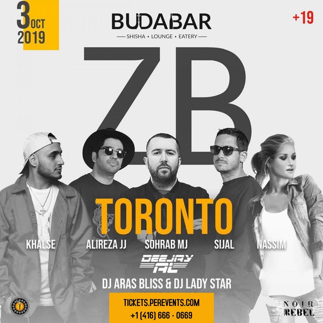 ZED BAZI Sohrab MJ / Alireza JJ / Sijal / Nassim / Khalse on Oct 03, 22:00@NOIR inside Rebel - Buy tickets and Get information on PEREVENTS tickets.perevents.com