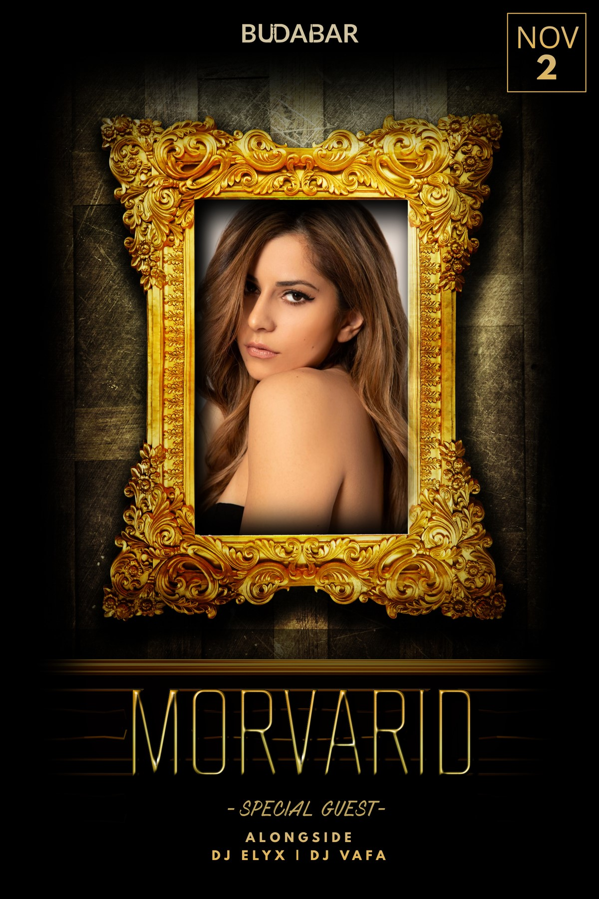 MORVARID  on Nov 02, 21:00@BUDABAR - Buy tickets and Get information on PEREVENTS tickets.perevents.com