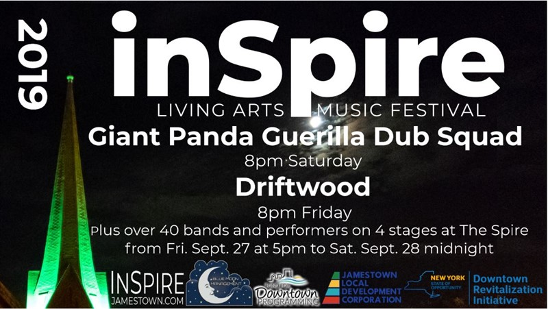 Get Information and buy tickets to InSpire Living Arts and Music Festival 2019 Sept 27th 5pm-12am & Sept 27 3pm-12am on The Spire