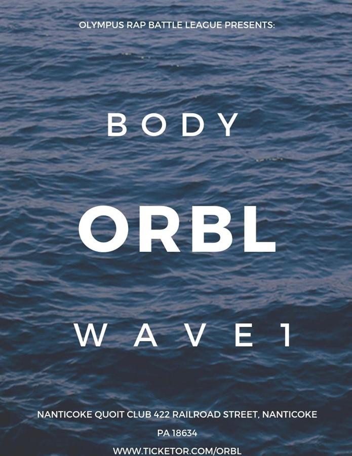 Olympus Rap Battle League Presents: Body Wave 1