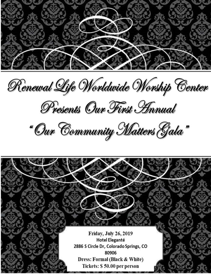 The Community Matters Gala