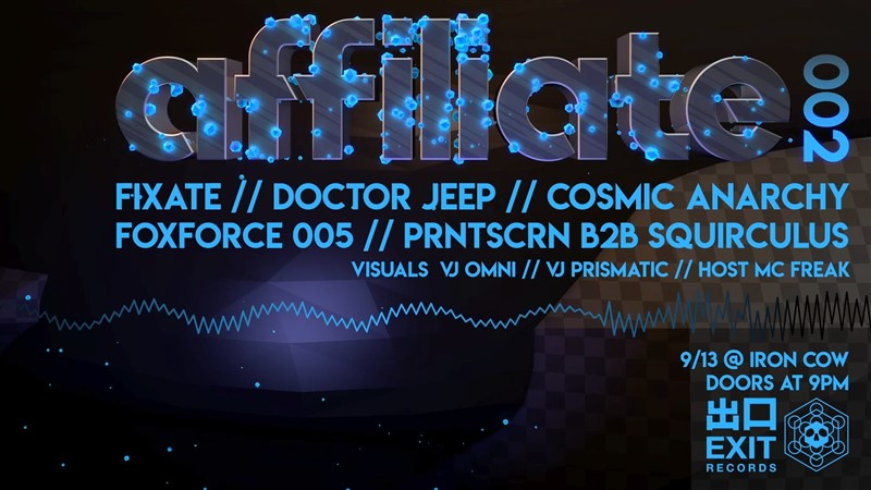 Affiliate 002 // Fixate // Doctor Jeep
