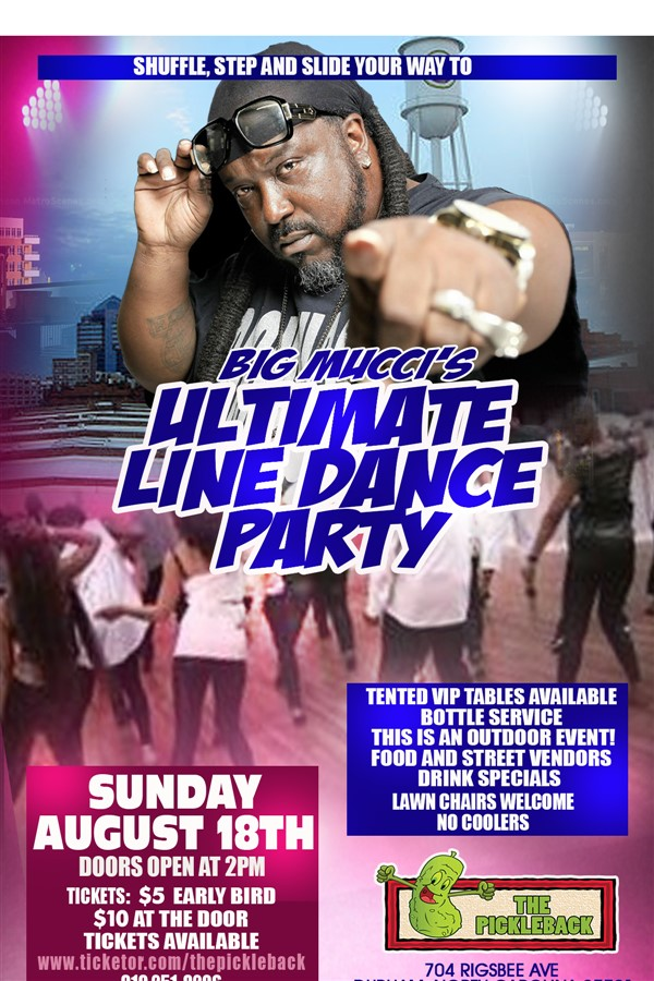 Big Mucci's Ultimate Line Dance Party