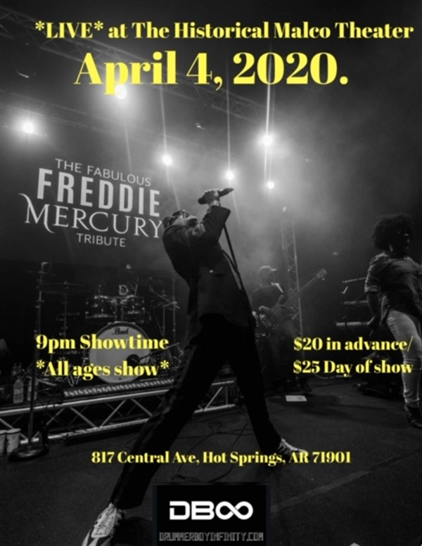 Get Information and buy tickets to Fabulous Freddie Mercury Tribute For all ages on Maxwellblade.com