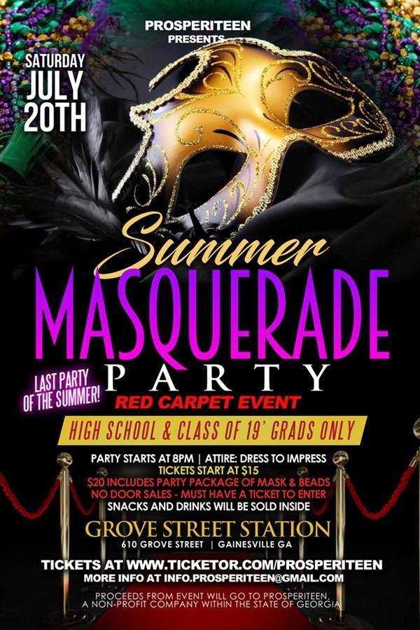 Summer Masquerade Party