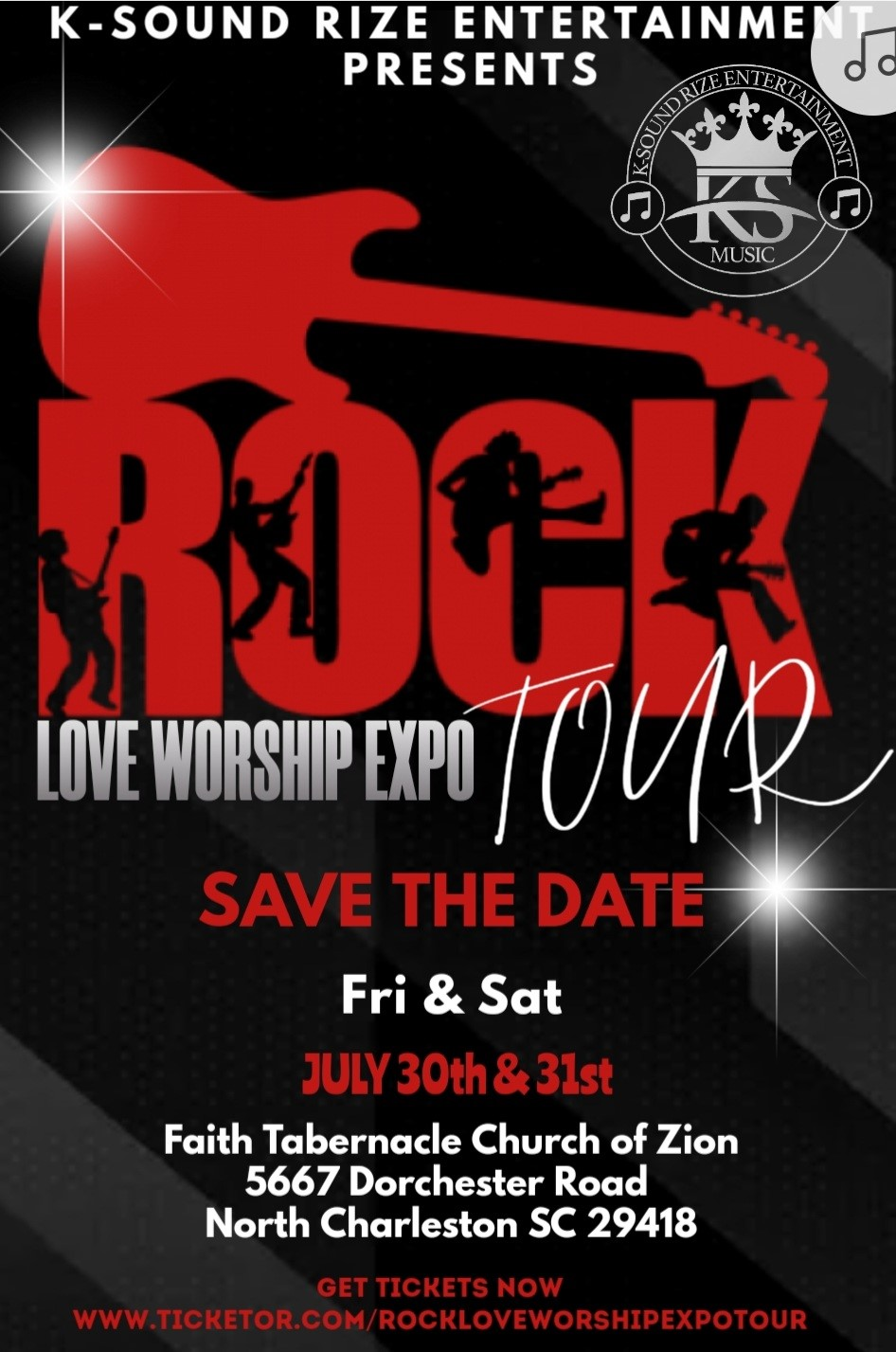 ROCK LOVE WORSHIP EXPO TOUR  on Jul 30, 19:00@Faith Tabernacle Church of Zion - Buy tickets and Get information on RockLoveWorshipExpoTour