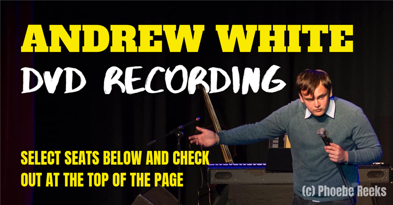 Get Information and buy tickets to Andrew White: DVD Recording  on RLtickets