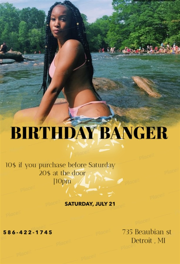 Birthday Banger