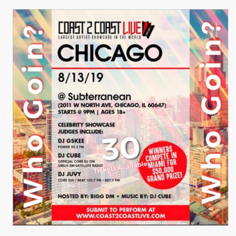 XXZYLER LIVE @ Subterranean Chicago, Illinois Coast2Coast