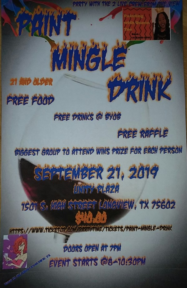 Paint Mingle Drink with QUEEN TEE AND ME