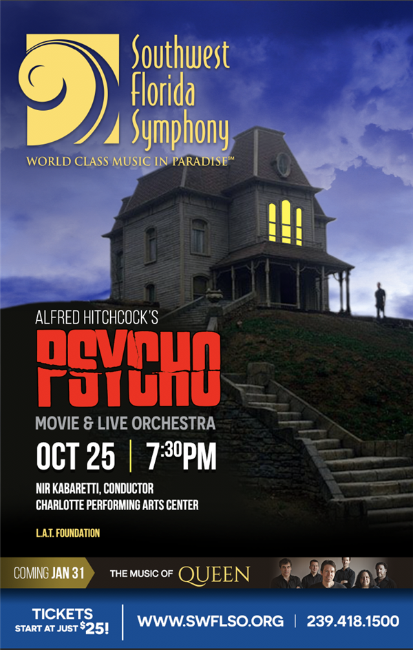 Psycho - Film with Live Orchestra (CPAC)
