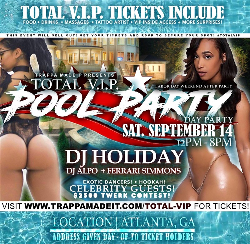 Total V.I.P Pool Party