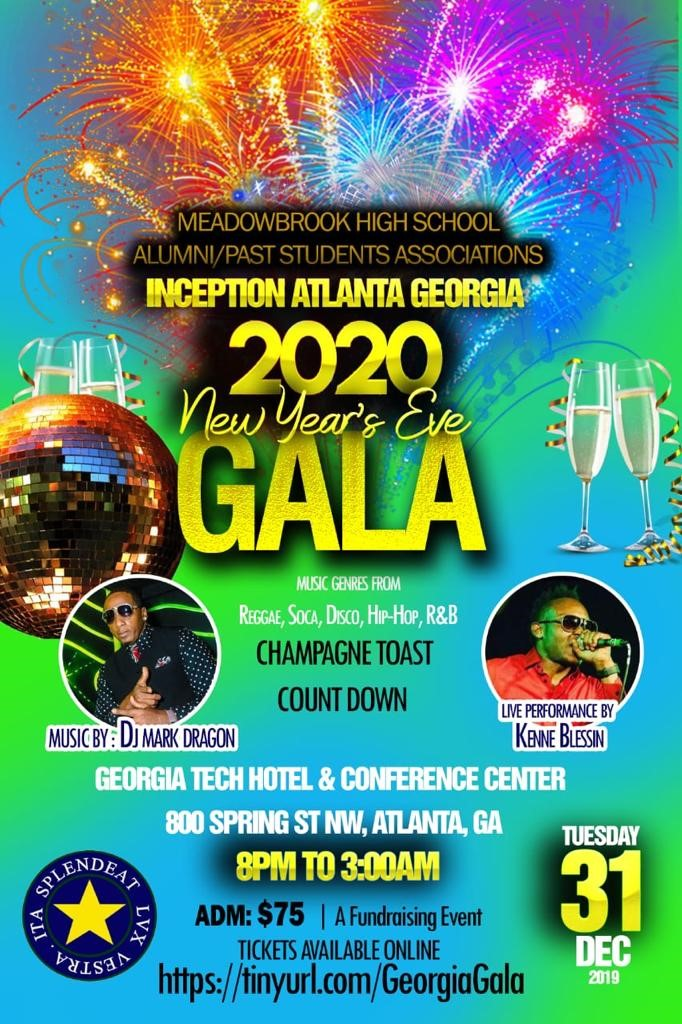 New Year's Eve Gala Meadowbrook High School Alumni/Past Students Assns on Dec 31, 20:00@Georgia Tech & Conference - Buy tickets and Get information on Meadowbrook High Alumni Assn