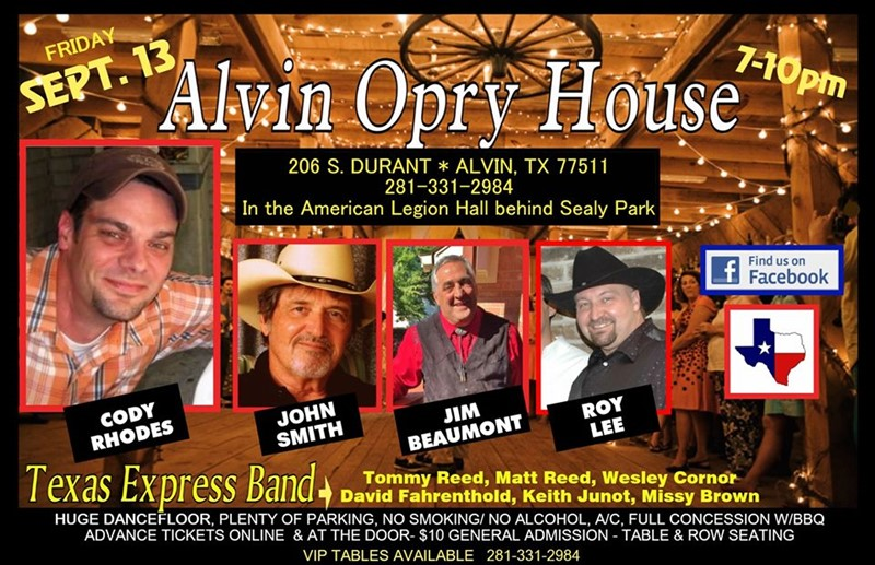 The Alvin Opry House at The American Legion