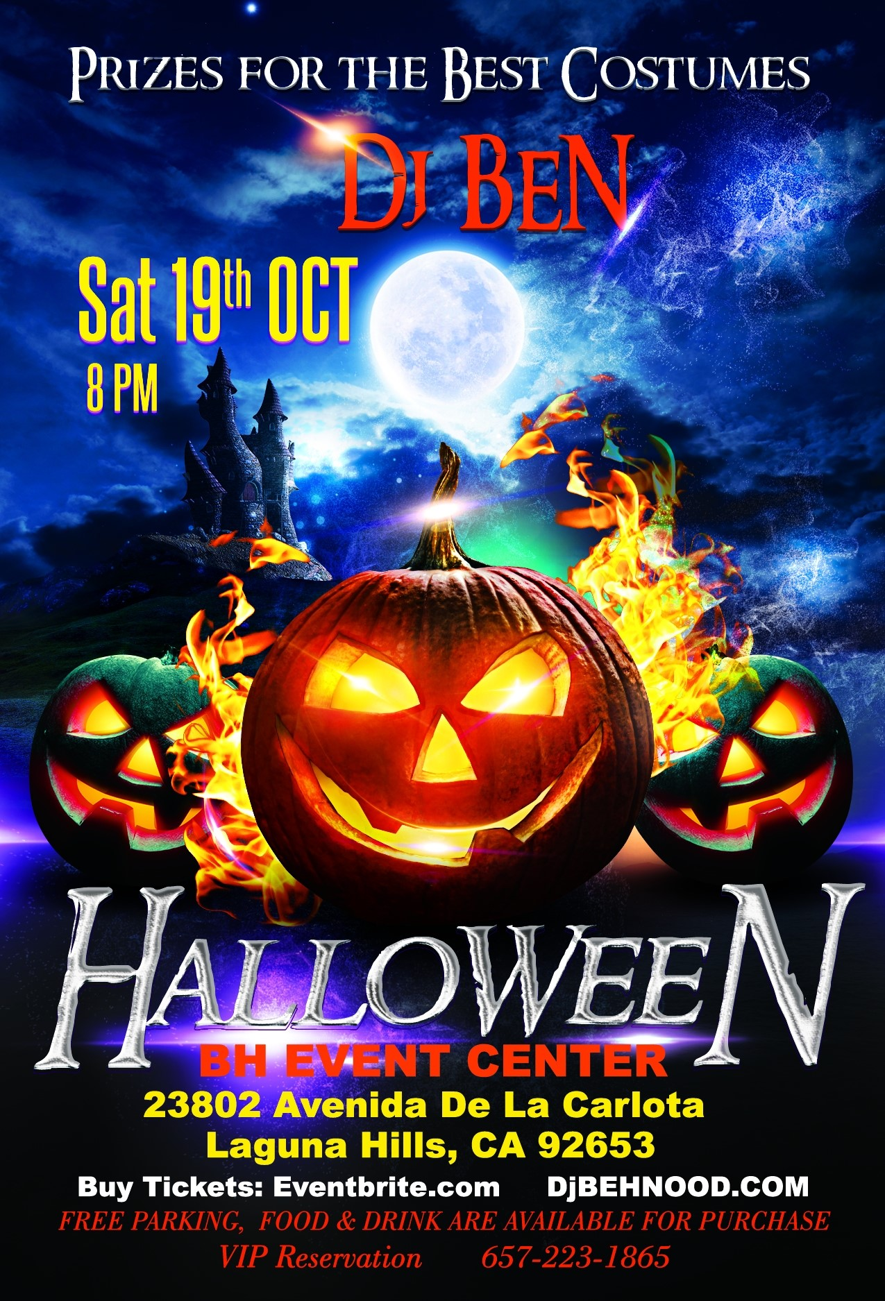 Persian Halloween party  on Oct 19, 20:00@BH Event Center - Buy tickets and Get information on www.djbehnood.com