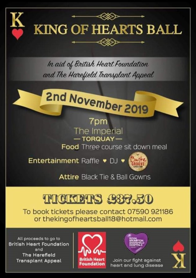 The King of Hearts Ball 2019