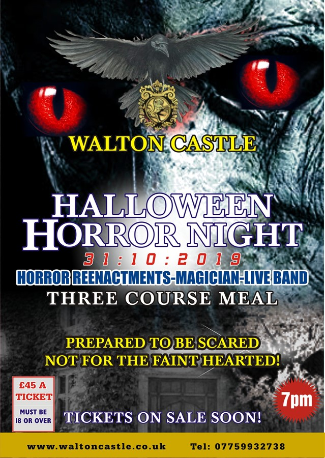 Walton Castle -Halloween Horror Night