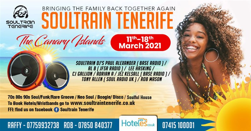 Get Information and buy tickets to SOULTRAIN TENERIFE SOULTRAIN TENERIFE on Walton Castle