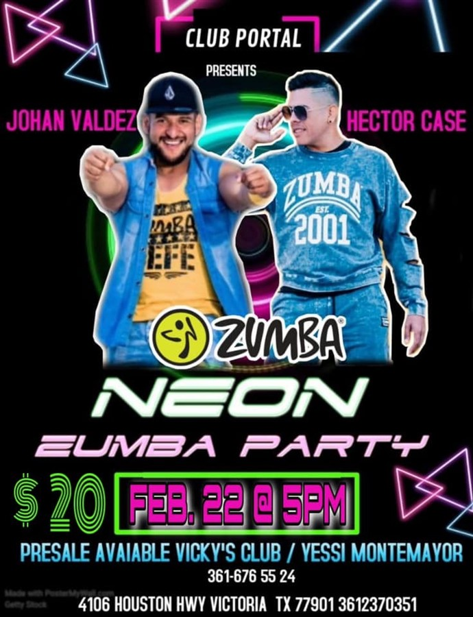 Get Information and buy tickets to Zumba Neon Zumba Party on Club Portal