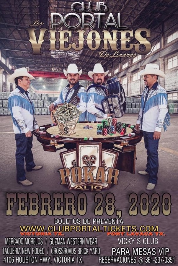 Get Information and buy tickets to Los Viejone's  on Club Portal