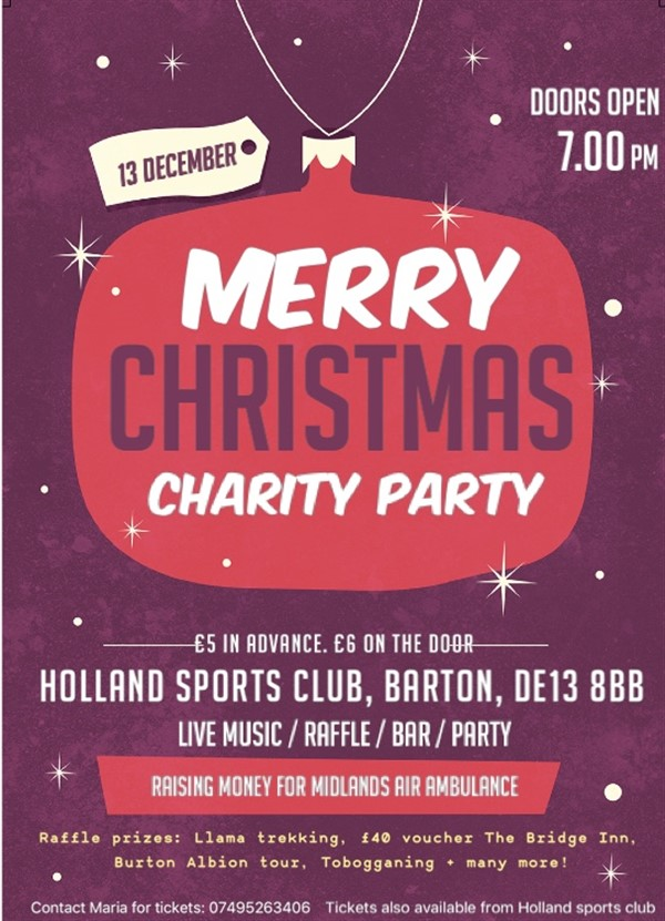 Christmas Charity Party