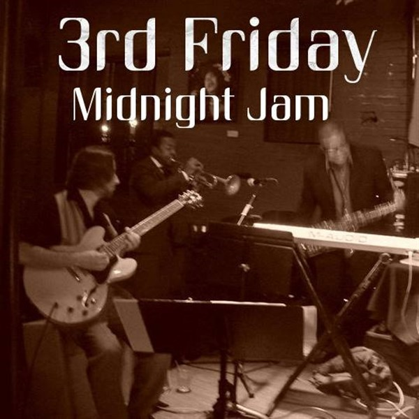 3rd Friday Midnight Jam Jazz Becuzz 5th Anniversary on Oct 18, 23:30@Jazz Becuzz Art Center - Buy tickets and Get information on Dallas Jazz Collective