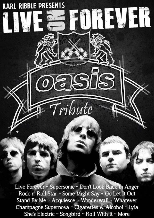 Oasis Tribute Night
