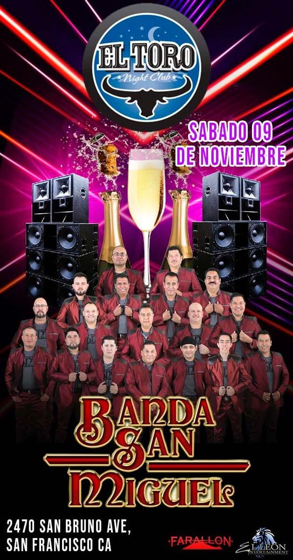 Banda San Miguel | Sábado 9 de Noviembre
